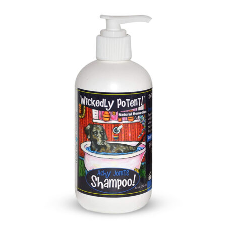PawFlex | Wickedly Potent Natural Remedies Achy Joints Dog Shampoo