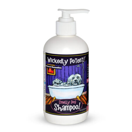 PawFlex | Wickedly Potent, Natural Remedies, Smelly Dog & Pet Shampoo